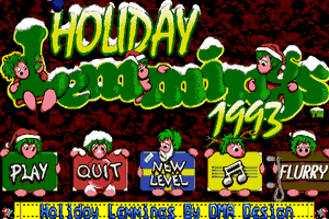 Holiday Lemmings 0