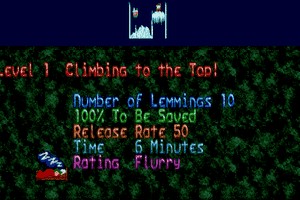 Holiday Lemmings 1