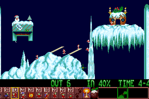 Holiday Lemmings 2