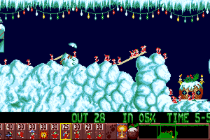 Holiday Lemmings abandonware