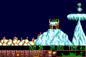 Holiday Lemmings 6