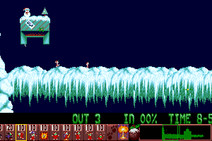 Holiday Lemmings 8