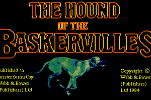 Hound of the Baskervilles 2