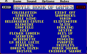Hoyle: Official Book of Games - Volume 2: Solitaire 1