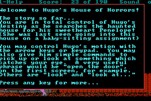 Hugo's House of Horrors abandonware