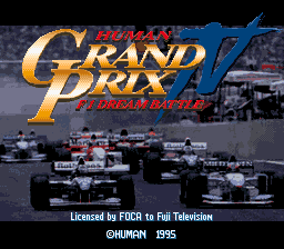 Human Grand Prix IV: F1 Dream Battle 0