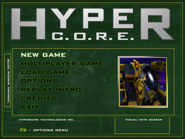 HyperCore: Out of Dimension 1