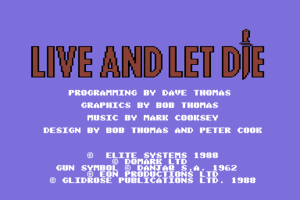 Ian Fleming's James Bond 007 in Live and Let Die: The Computer Game 0