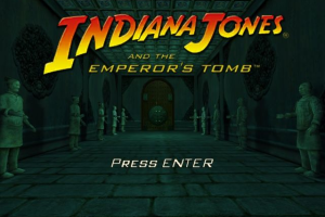 Indiana Jones and the Emperor's Tomb 0