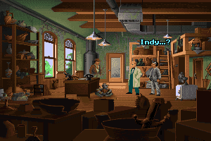 Indiana Jones and The Fate of Atlantis 3