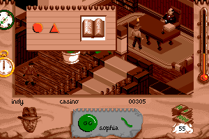Indiana Jones and The Fate of Atlantis: The Action Game 9