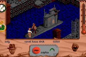 Indiana Jones and The Fate of Atlantis: The Action Game 17