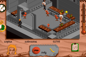Indiana Jones and The Fate of Atlantis: The Action Game abandonware