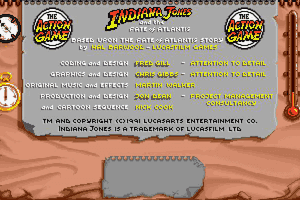 Indiana Jones and The Fate of Atlantis: The Action Game 5