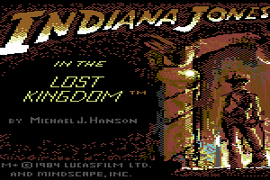 Indiana Jones in the Lost Kingdom 1