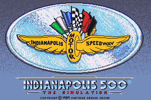 Indianapolis 500: The Simulation 0