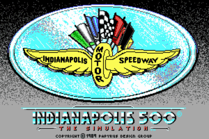Indianapolis 500: The Simulation 8