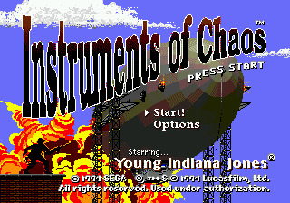 Instruments of Chaos Starring Young Indiana Jones 0