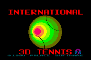 International 3D Tennis 0