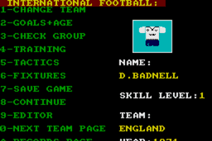 International Football abandonware
