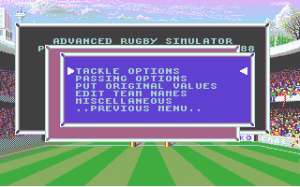 International Rugby Simulator abandonware