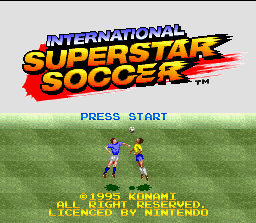 International Superstar Soccer 0