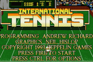 International Tennis 0