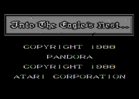 Into The Eagle's Nest abandonware