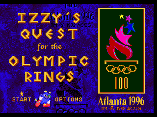 Izzy's Quest for the Olympic Rings 0