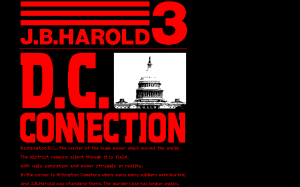 J.B. Harold 3: D.C. Connection 0