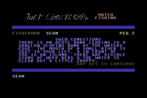 Jack Charlton's Match Fishing abandonware