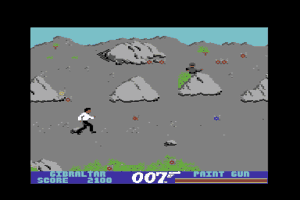 James Bond 007 in The Living Daylights: The Computer Game 2