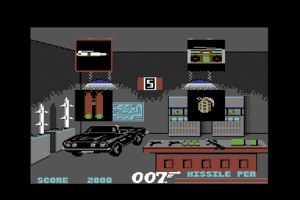 James Bond 007 in The Living Daylights: The Computer Game 3