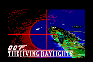 James Bond 007 in The Living Daylights: The Computer Game 0