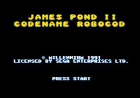 James Pond 2: Codename: RoboCod 1
