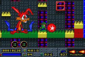 Jazz Jackrabbit: Holiday Hare 1995 10