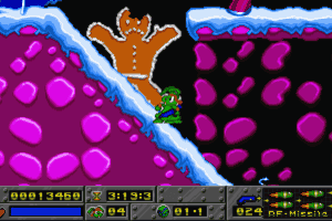 Jazz Jackrabbit: Holiday Hare 1995 abandonware