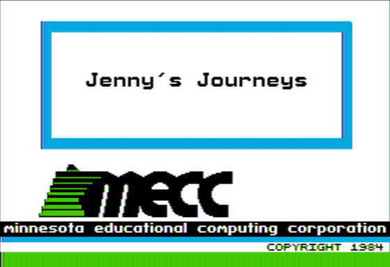 Jenny's Journeys 0