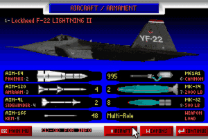 JetFighter II: Advanced Tactical Fighter 2