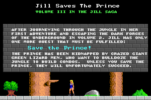 Jill of the Jungle: Jill Saves the Prince 1