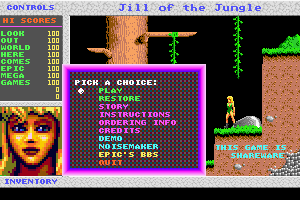 Jill of the Jungle: The Complete Trilogy 0
