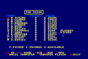 Jimmy's Soccer Manager abandonware
