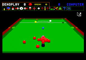 Jimmy White's 'Whirlwind' Snooker abandonware
