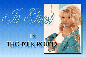 Jo Guest in the Milk Round 0