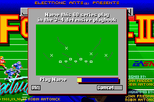 John Madden Football II 1