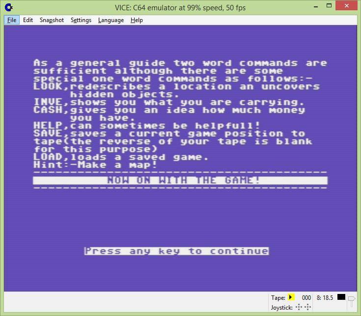 Download Jolly Jack's Run Ashore (Commodore 64) - My Abandonware
