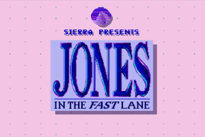 Jones in the Fast Lane: CD-ROM 1