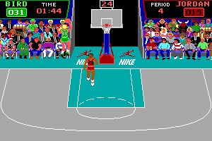 Jordan vs Bird: One on One abandonware