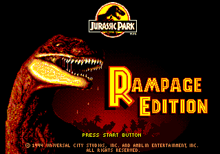 Jurassic Park: Rampage Edition 0