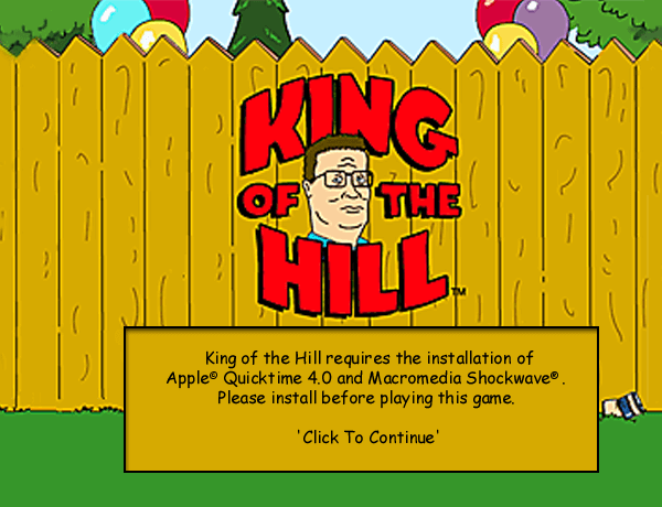 King of the Hill 0